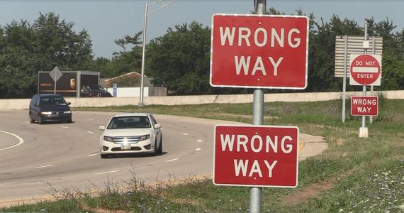 Wrong Way Detector