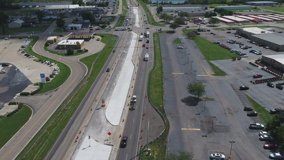 US 35 Superstreet Opens in new window