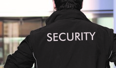 Security Guard back