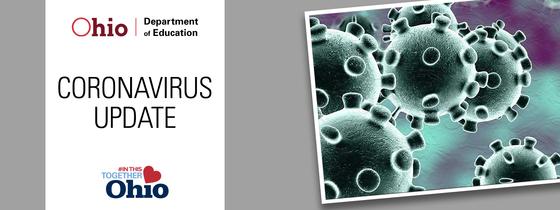 Ohio Department of Education Coronavirus Updates banner