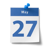 May 27 Calendar