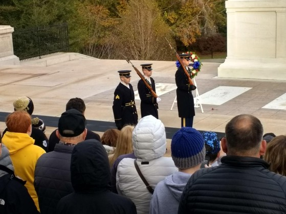 Guard at Wreath Ceremony - Photo #4