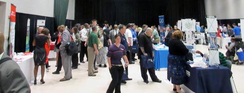 Dayton Job Fair Crowd 05122016