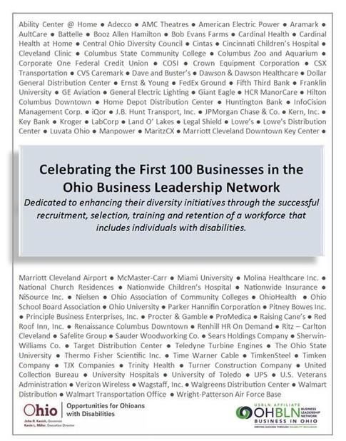 OHBLN 100 Certificate
