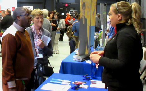 2015 Columbus Job Fair Employer Booth