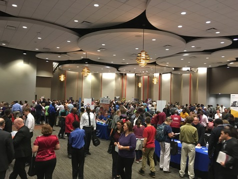 Cincinnati Job Fair participants