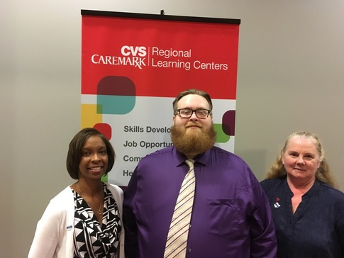 Chris CVS employees at Cincy Job Fair 2016