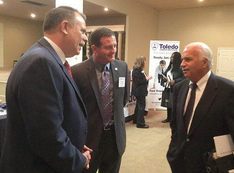miller & DVS Director Toledo Job Fair