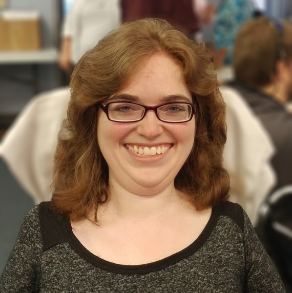 Lauren Ball pictured at Ironton Job Fair