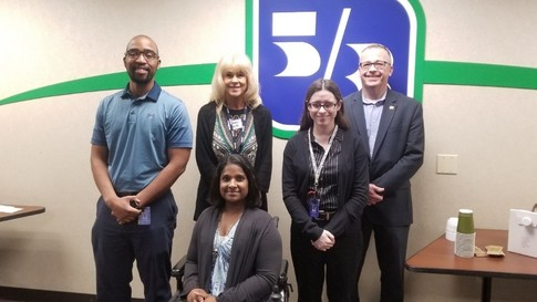 Employees from Fifth Third Bank that were former Project Search participants