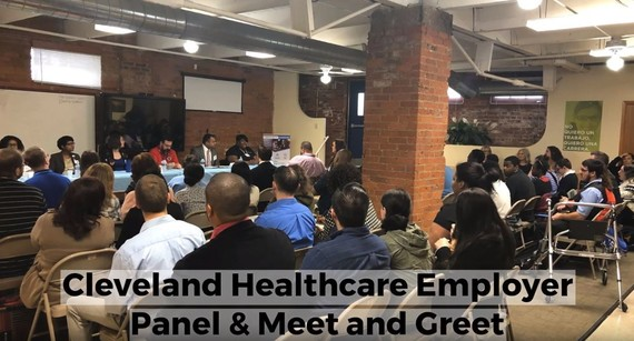 Cleveland Healthcare Employer Panel Meeting - Participants Seated