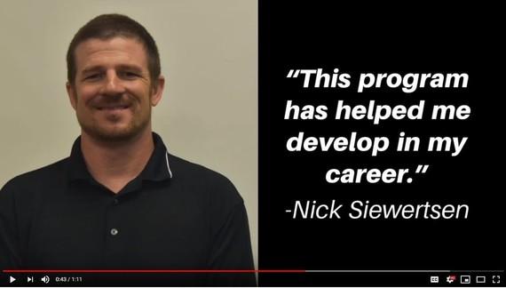 Photo of Nick Siewersten, who took part in deaf literacy pilot program