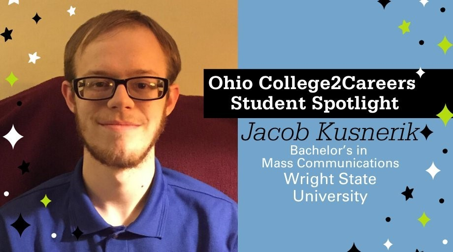 Photo of College2Careers Student Jacob Kusnerik