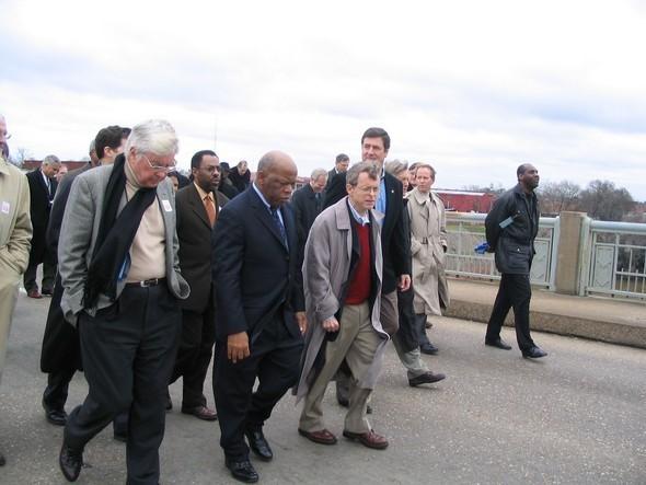 Governor DeWine with Congressman John Lewis
