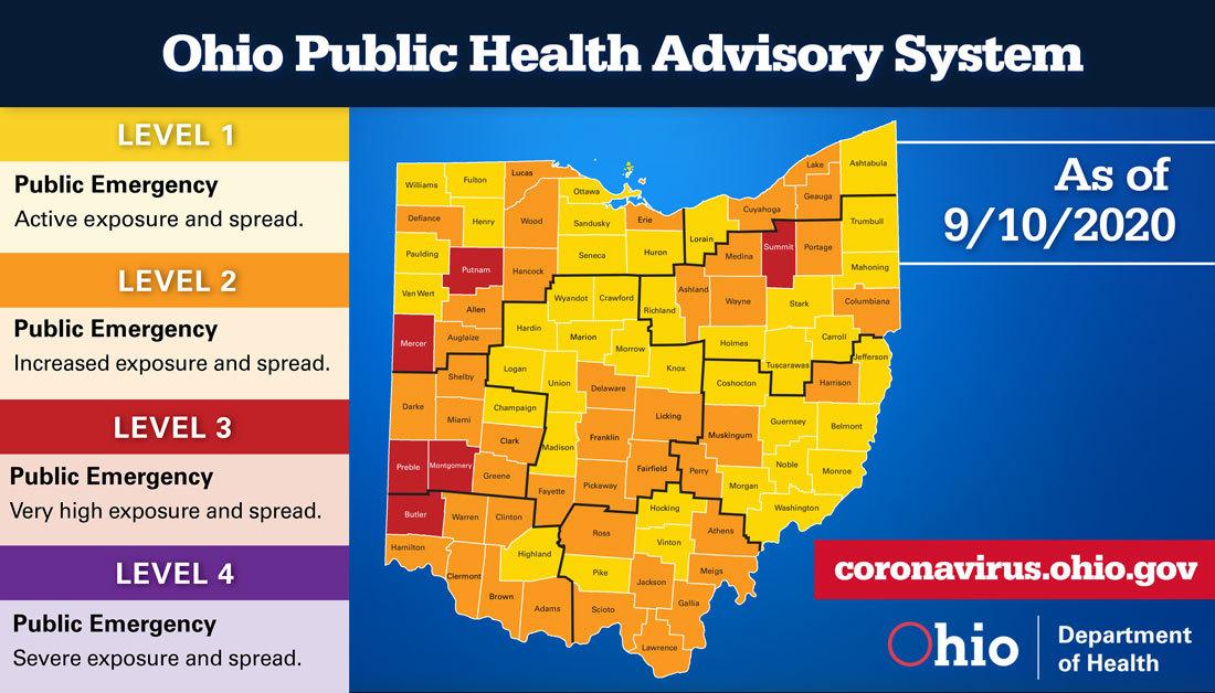 Public Health Advisory Alert Map