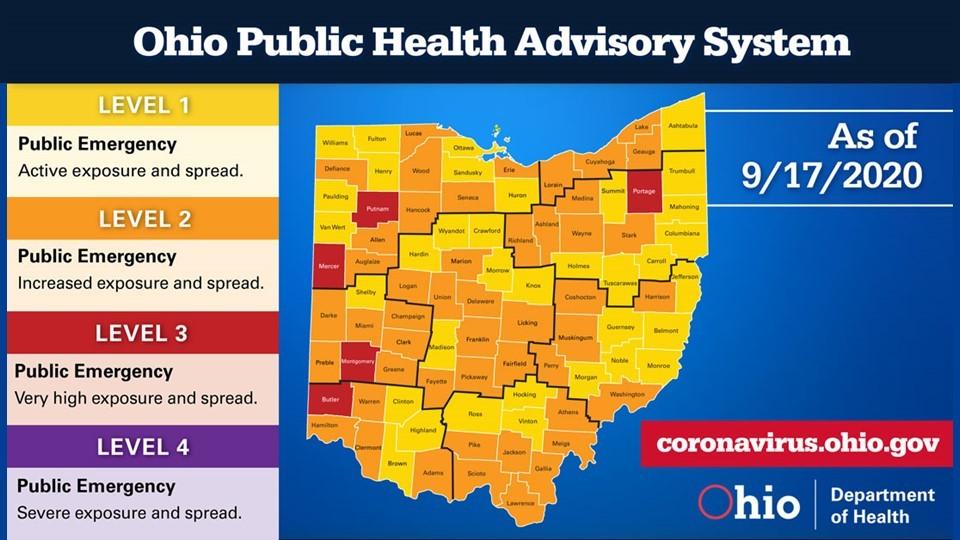 Health Advisory Map