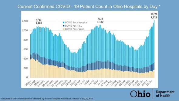 Hospitalization Chart