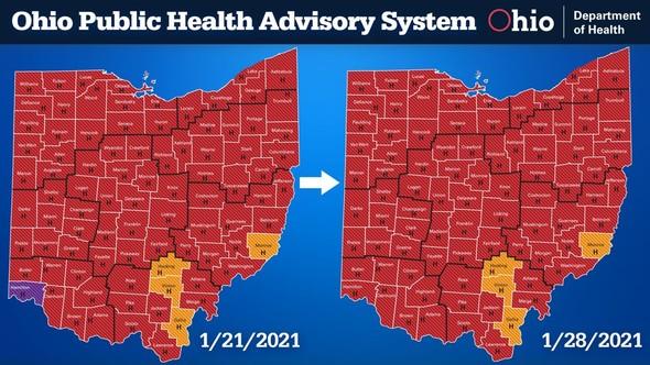 Public Advisory System Map