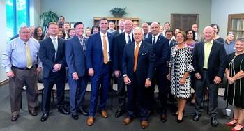 2019-09-25 Governor Stitt Visit