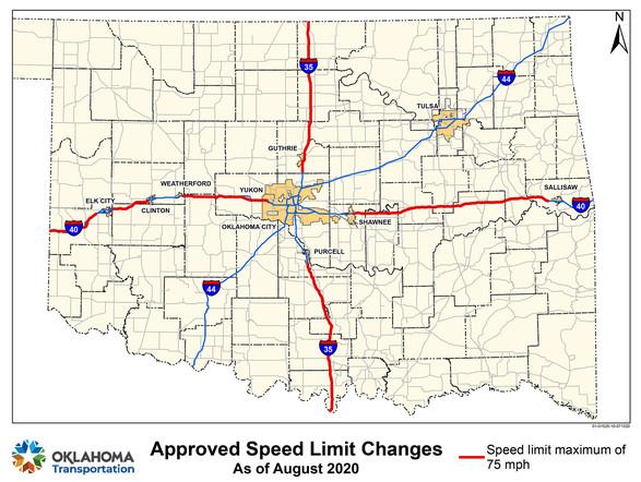 Speed Limit changes