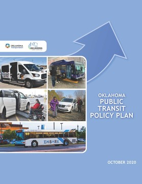 Oklahoma Public Transit Policy Plan cover sheet