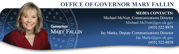 office of governor mary fallin