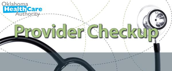 oklahoma health care authority provider checkup