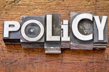 Policy word in vintage metal