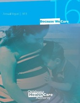 2016 OHCA Annual Report cover
