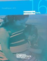 2016 OHCA Annual Report cover