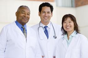 Trio of doctors