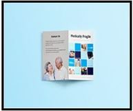 Photo of OHCA's Medically Fragile brochure