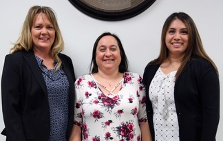 Insure Oklahoma Outreach Team (left to right): Nicole Paschall, Regena Carlson and Angelica Lopez