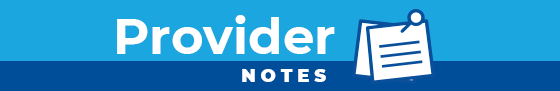 Provider Notes