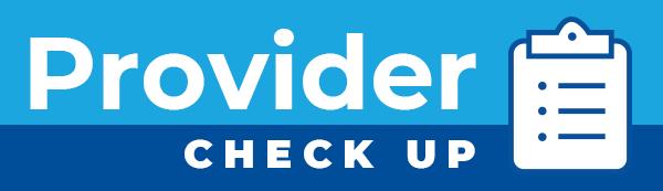 Provider Checkup