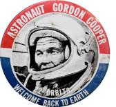Gordon Cooper Astronaut button