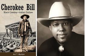 Author Burton and Cherokee Bill book
