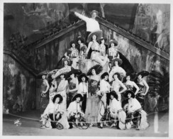 Will Rogers roping the Ziegfeld Follies