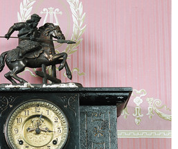 Drummond Mantel Clock white edge