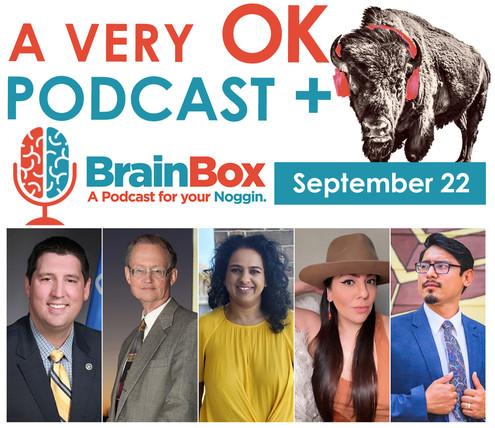 A Very OK Podcast Crossover event