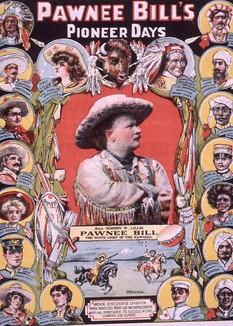Pawnee Bill Wild West Show Poster