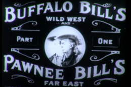 Film Reel Buffalo and Pawnee Bill
