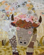 Bison Quilt made by the ladies of the Cimarron Valley Quilter's Guild in Stillwater