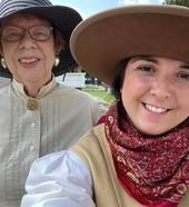Living History interpreters at CSRHC