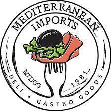 Mediterranean Imports, Deli + Gastro Goods logo