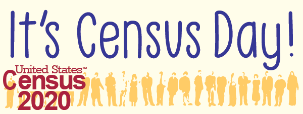 It's Census Day!