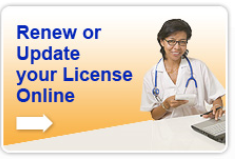 renew/update your license