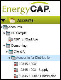 EnergyCap Account List