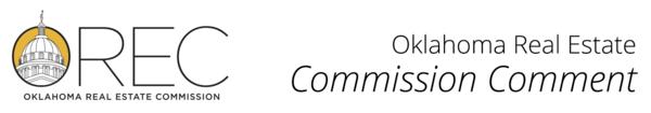 Commission Comment Banner