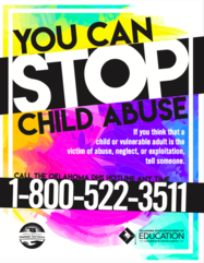 Child Abuse Poster